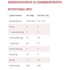High5 4:1 EnergySource - Nutrición deportiva - Summer Fruits 1,6kg